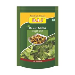 Raj Kasuri Methi, Packaging Size: 25 to 100, Packaging Type: Packet