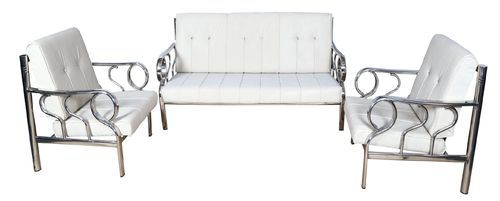 3 Seater Stainless Steel Sofa Size 6 X 2 5 Feet