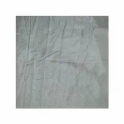 44 Inch Grey Paper Silk Fabric, GSM: 150-200