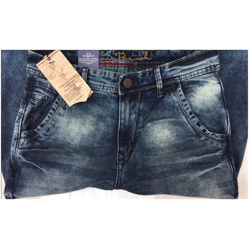 Denim Plain Embedding jeans
