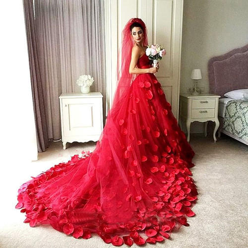 Trendy Wedding Gown