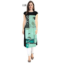 Half Sleeve Casual Wear Kurti