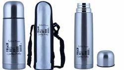 Kaliber Steel grey Thermos Flask, Capacity: 500 ml