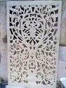 Handmade White Marble Jali