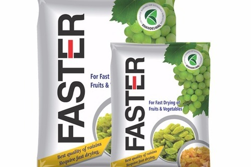 Faster (Raisin Drying Agents), Packaging Type: Plastic