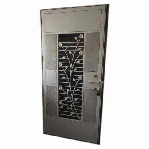 Metal Safety Door And Metal Grill Manufacturer Sai
