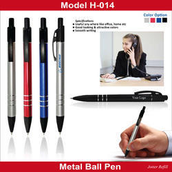 Metal Ball Pen H-014