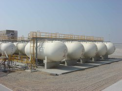 Mounded Propane And LPG Storage