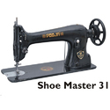 Manual Pooja Shoe Master 31 K Sewing Machine For Textile Industry