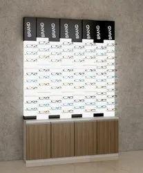 New Back Wall Displays For Optical Eye Wear Shop