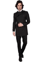 Cotton Blend Suiting Dheerajsharma Black Trench Coat