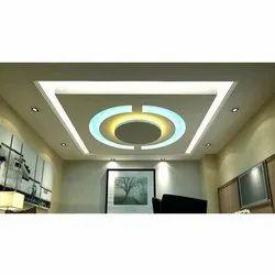LED Light Gypsum False Ceiling Services