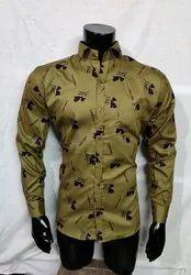 Cotton/Linen Casual Collar Shirts