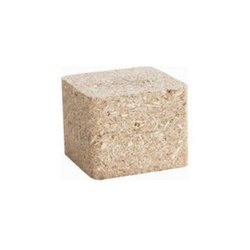 Square Compressed Wood Block, Thickness: 10 Mm, Rustic