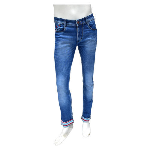 Trendy Denim Lycra Jeans