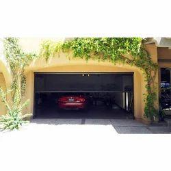 Galvanized Steel Garage Door