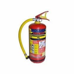 Safepro Carbon Steel 4 Kg Dry Powder Fire Extinguishers, For Office, Capacity: 4Kg