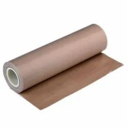 Brown PTFE Fiber Glass Cloth, 10 - 100 Mtrs, Packaging Type: Roll