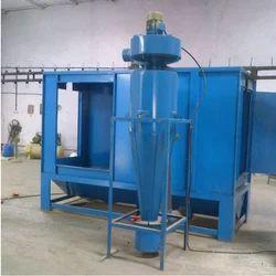 Steel Single Phase Powder Coating Booths, Fully Undershot Type, Automation Grade: Semi-Automatic