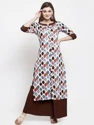 Party Wear Rayon Designer Kurti