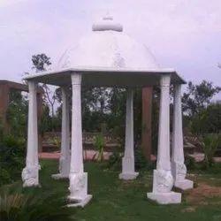 Dome FRP Fiber Garden Hut