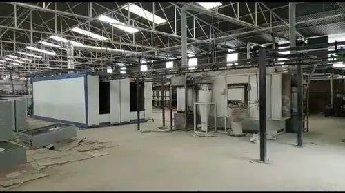 Powder Coating Plant,Powder Painting unit ,Painting Unit