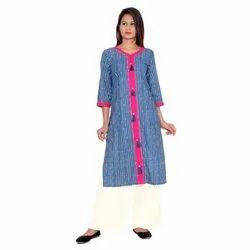 Ladies Fashionable Cotton Kurti