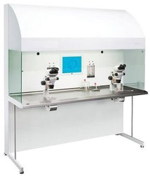 MS And SS White IVF Work Station, Seating Capacity: 2