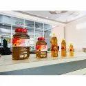 S.k Gold Kachi Ghani Organic Mustard Oil 100% Purity Guaranteed, Packaging Size: 5 Litre