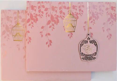 single fold insert cardboard paper indian wedding cards wedding invitation cards