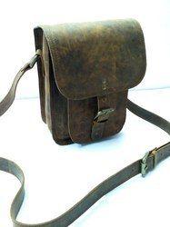 Buffalo Leather Sling Bag
