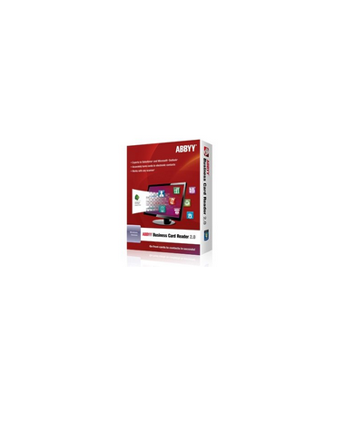 Abbyy business card reader 20 for windows version current 1 user abbyy business card reader 20 for windows version current 1 user perpetual reheart Images
