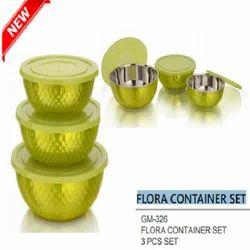 Divine Green Flora Container Set