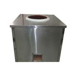 Stainless Steel Square Tandoor, For Commercial, Capacity: 100 L