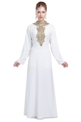 Tea Party Wear Evening Gown Nighty Dress For Saudi Arabian Ladies