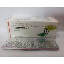 Telmisartan with Amlodipine Besylate Tablets