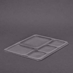 5 CP Plastic Disposable Meal Tray