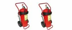 ABC Dry Powder Mobile Type Fire Extinguisher, Capacity: 25 Kg
