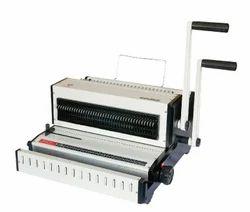 Lucky Plastics Wiro Binding Machine (3:1 & 2:1) F/S  ( Spiro )