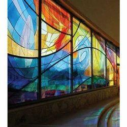 Multicolored Decorative Art Glass