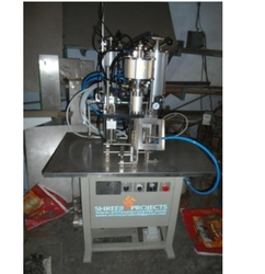 3 In 1 Semi-Automatic Aerosol Filling Machine