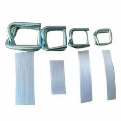 Zinc Plain Composite Strap Buckle for Strapping, Packaging Type: Packet