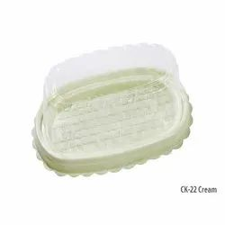 CK-22 Cream Plastic Container