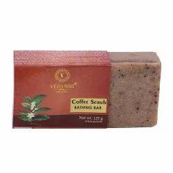 Vedansh有机咖啡洗浴皂,125克