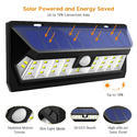 30 LED Wide Angle Solar Wall Light With Motion