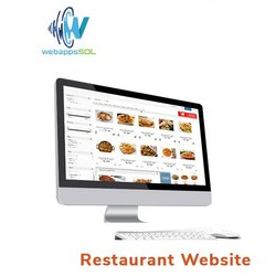 Restaurant Website Designing Service with Chat Support