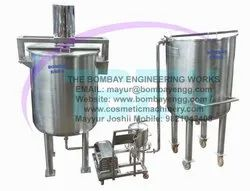Hair Oil Manufacturing Plant