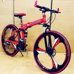 Red Hummer Bicycle