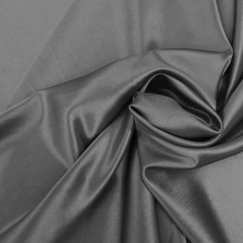 Grey Satin Fabric, Use: Garments