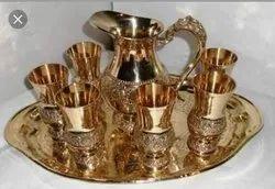 Golden Polish Brass Lemon Set